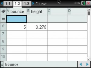 Bounce Height Data 2